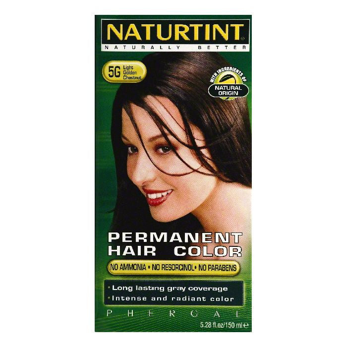 Naturtint Light Golden Chestnut Permanent Permanent Hair Color, 5.28 OZ