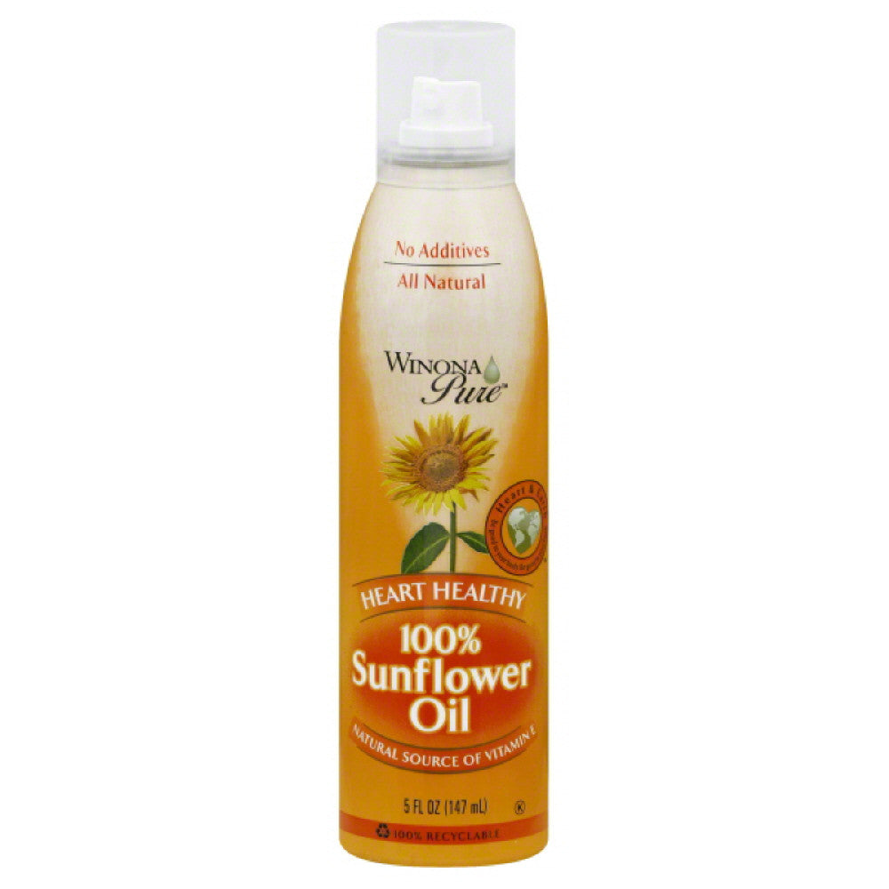 Winona Pure1 Sunflower Oil, 5 Oz  ( Pack of  6)