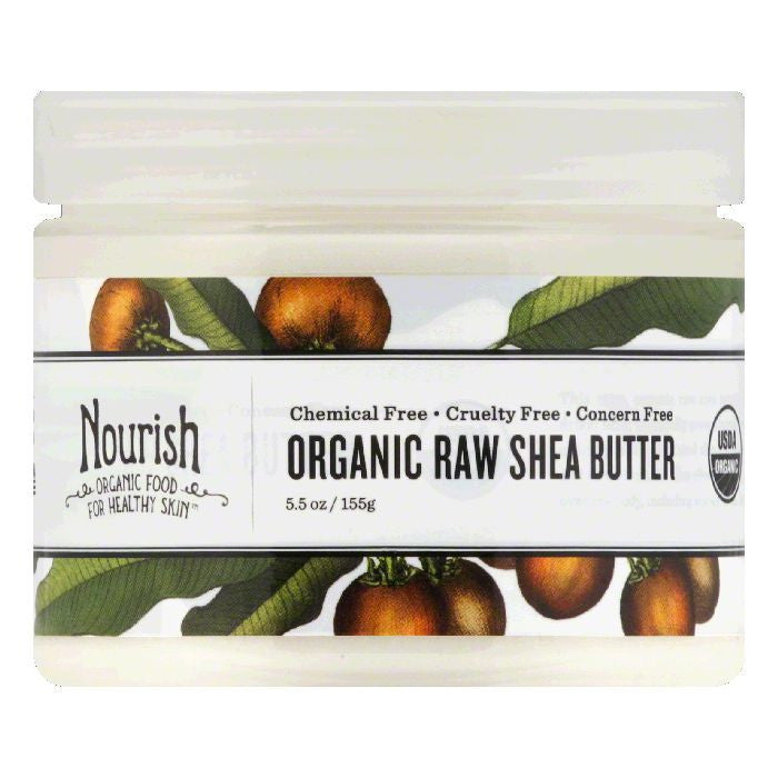Nourish Organic Organic Raw Shea Butter, 5.5 Oz