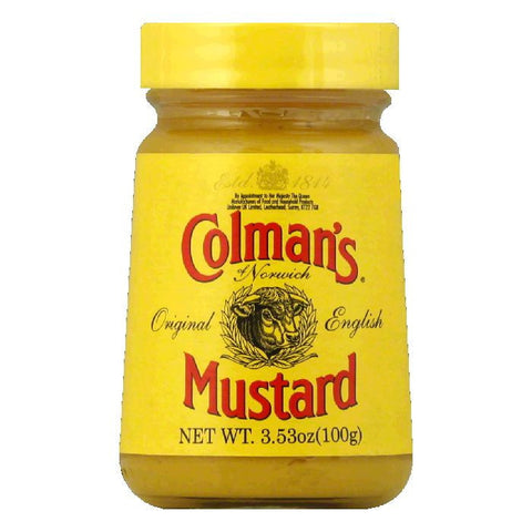 Colman's Mustard Hot English, 3.53 OZ  ( Pack of  8)