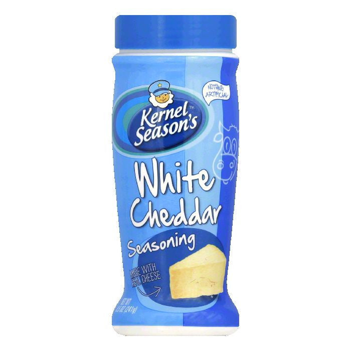 Kernel Seasons White Cheddar Seasoning, 8.5 Oz (Pack of 6)