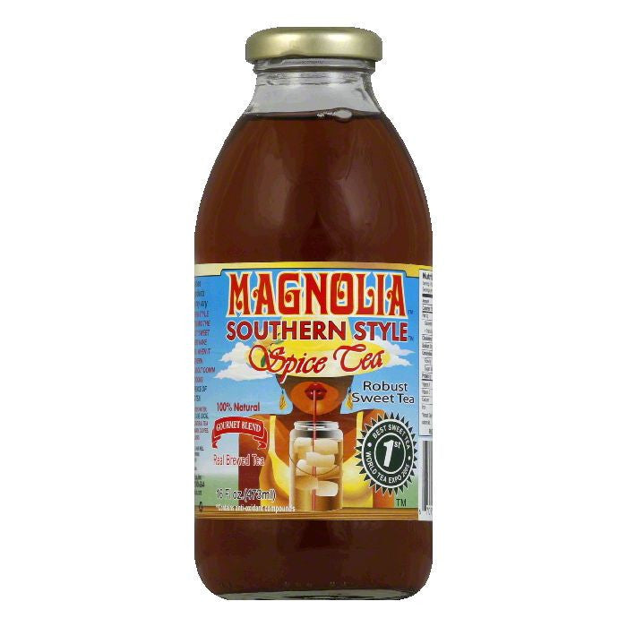 Magnolia Southern Style Spice Tea, 16 OZ (Pack of 12)
