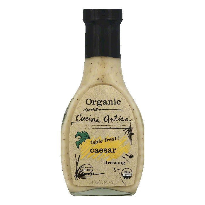 Cucina Antica Caesar Dressing, 8 OZ (Pack of 6)