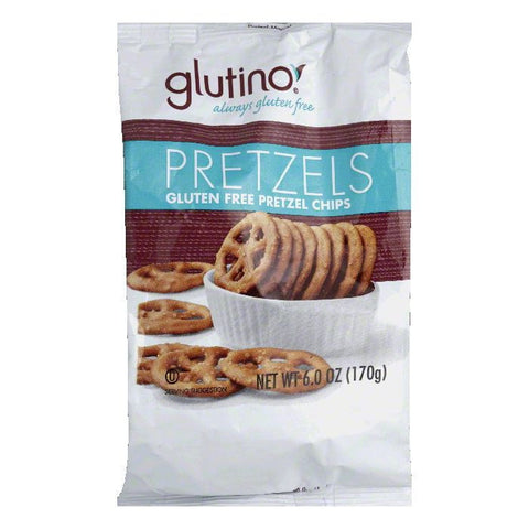 Glutino Gluten Free Chips Pretzels, 6 Oz (Pack of 6)