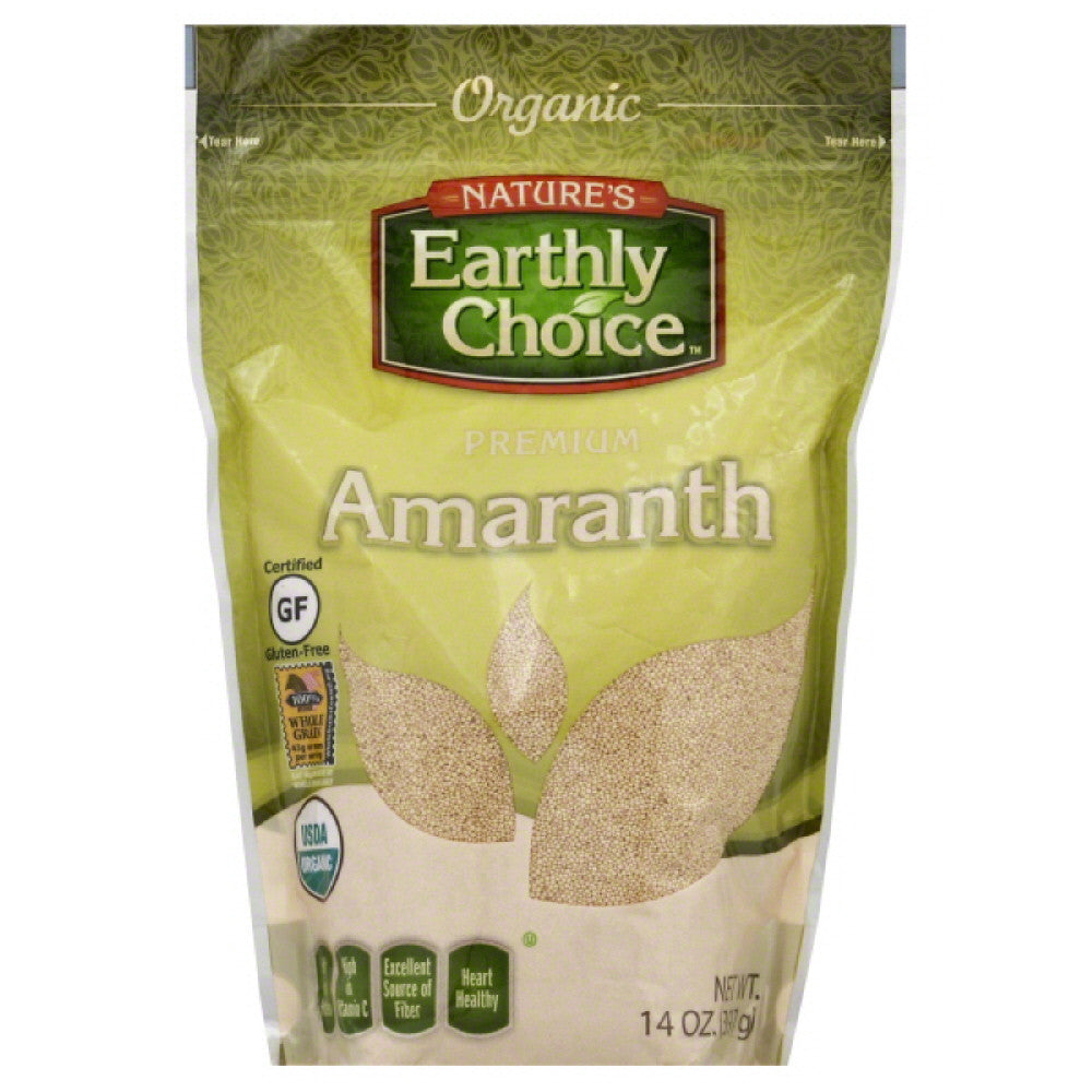 Natures Earthly Choice Premium Amaranth, 14 Oz (Pack of 6)
