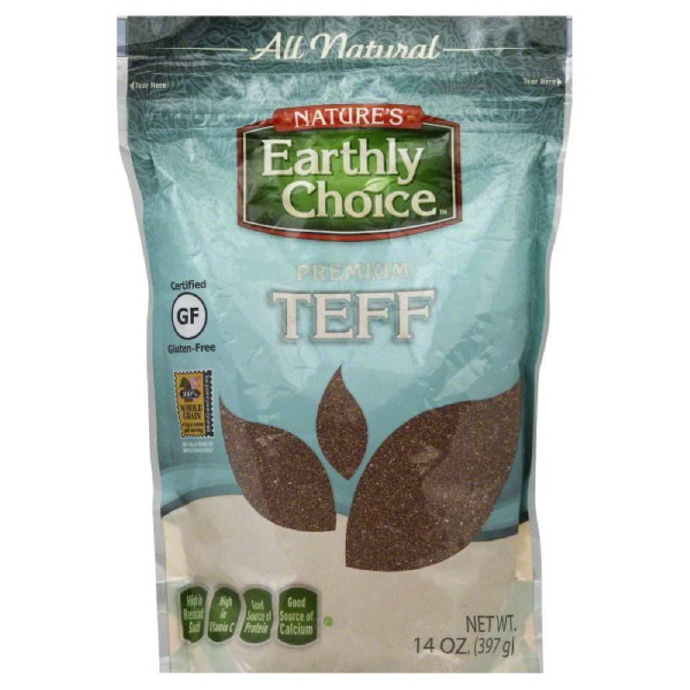 Natures Earthly Choice Premium Teff, 14 Oz (Pack of 6)