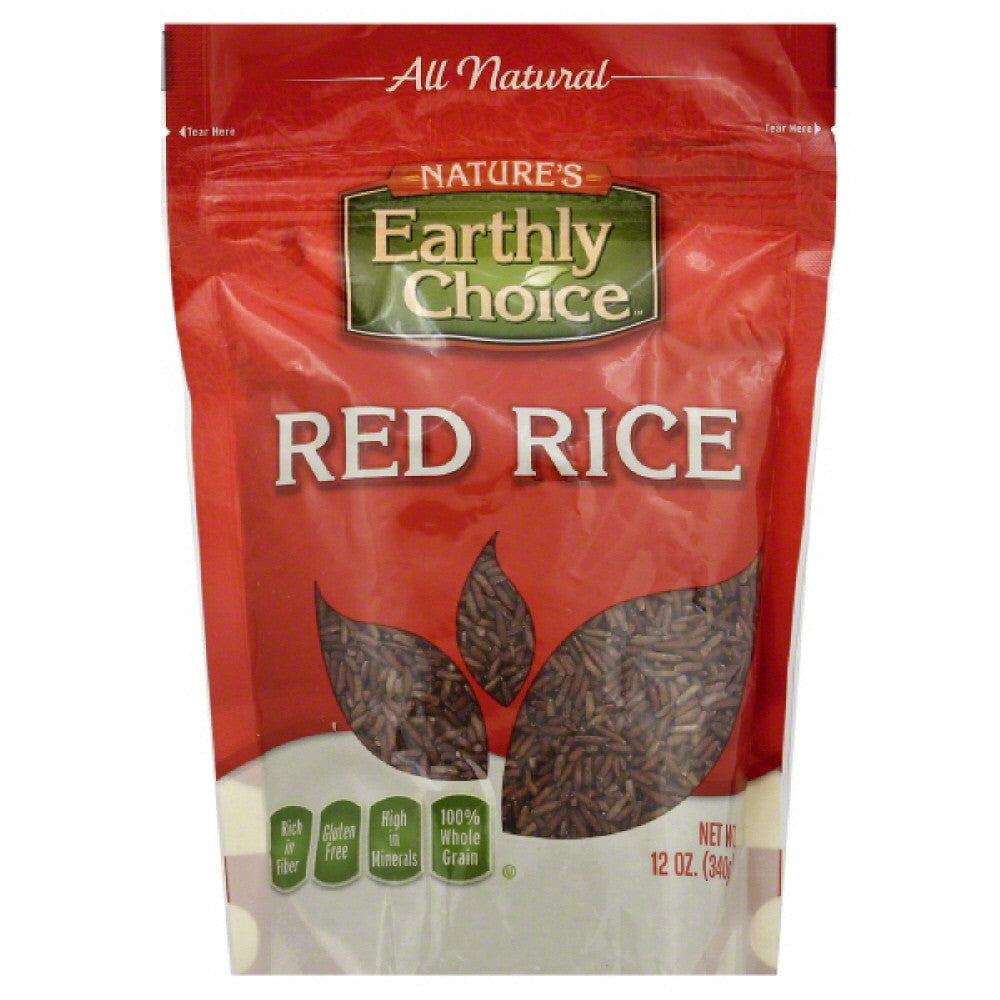Natures Earthly Choice Red Rice, 12 Oz (Pack of 6)