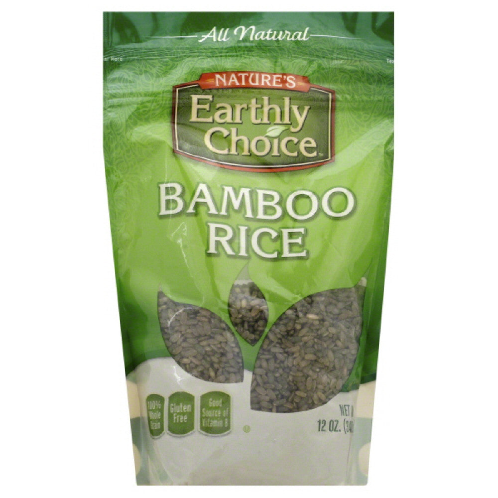 Natures Earthly Choice Bamboo Rice, 12 Oz (Pack of 6)