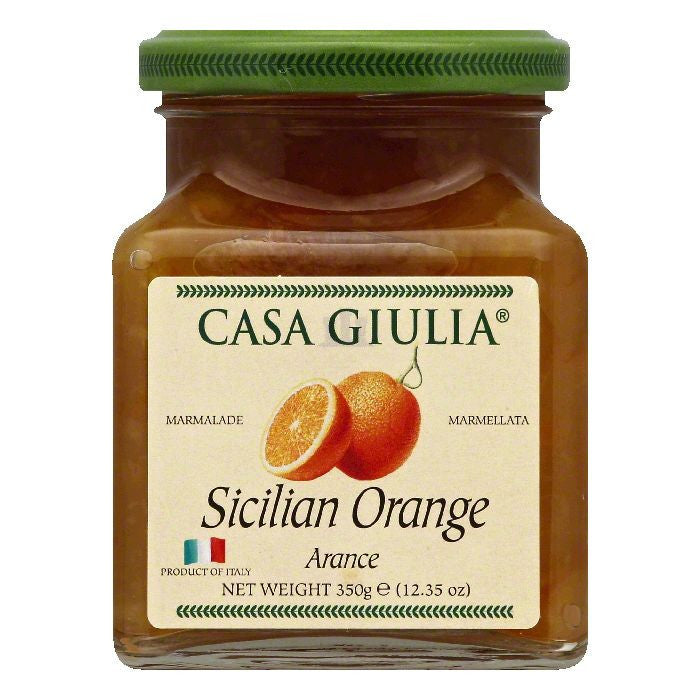 Casa Giulia Sicilian Orange Marmalade, 12.35 OZ (Pack of 6)