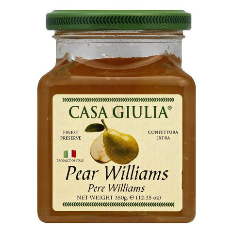 Casa Giulia Pear Williams Preserve, 12.35 OZ (Pack of 6)