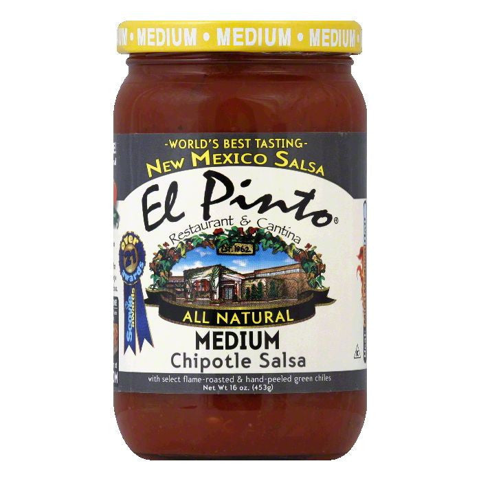 El Pinto Smokey Chipotle Sauce, 16 OZ (Pack of 6)