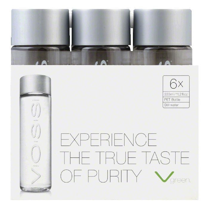 Voss Artesian Water, 330 ML (Pack of 4)
