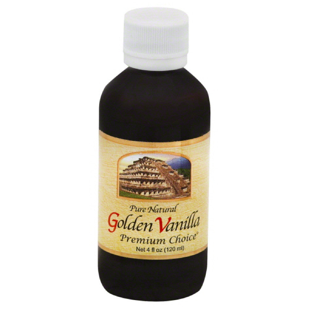 Golden Vanilla Golden Vanilla, 4 Oz (Pack of 12)