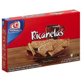 Gamesa Ricanelas Cinnamon Cookies, 17.2 Oz (Pack of 12)