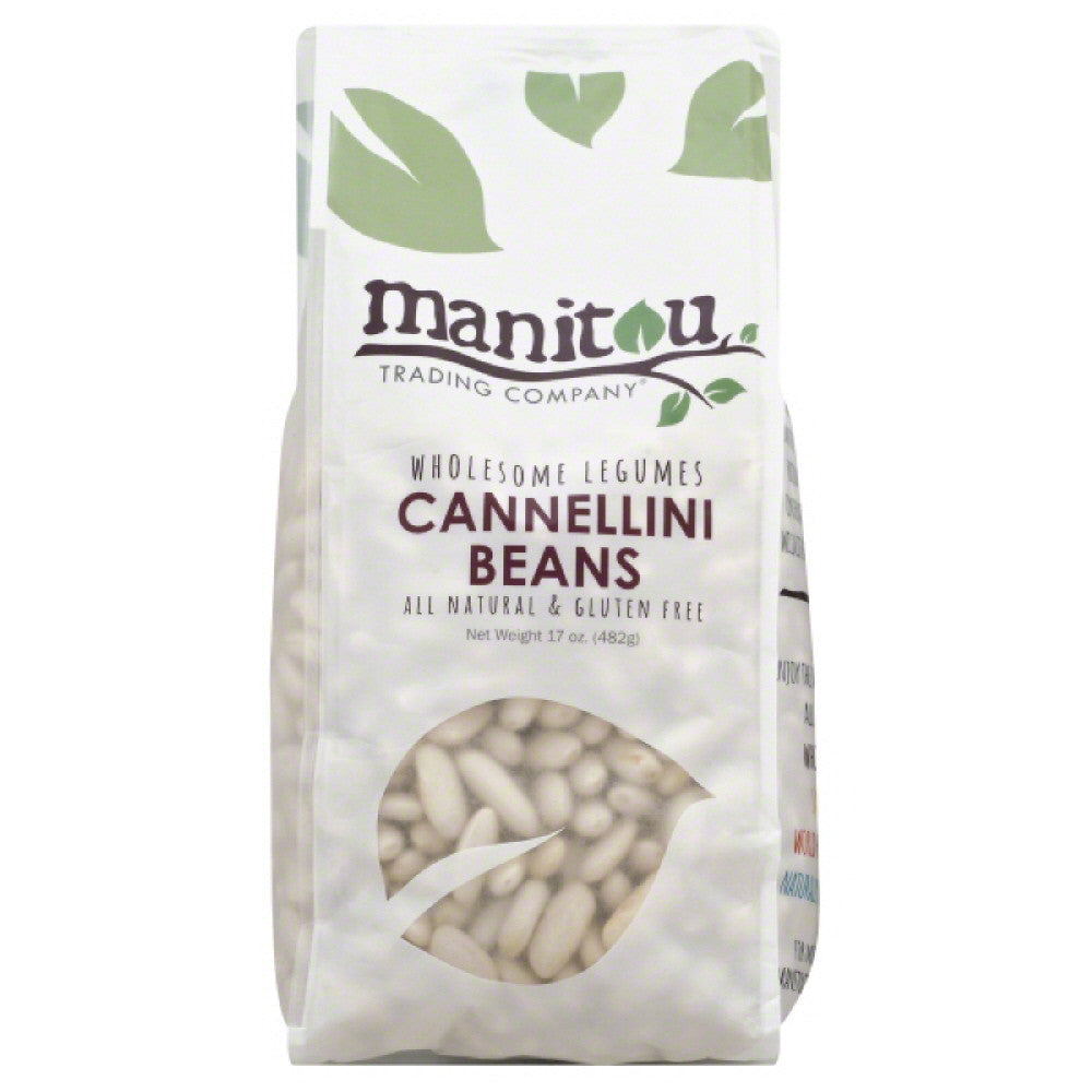 Manitou Trading Cannellini Beans, 17 Oz (Pack of 6)