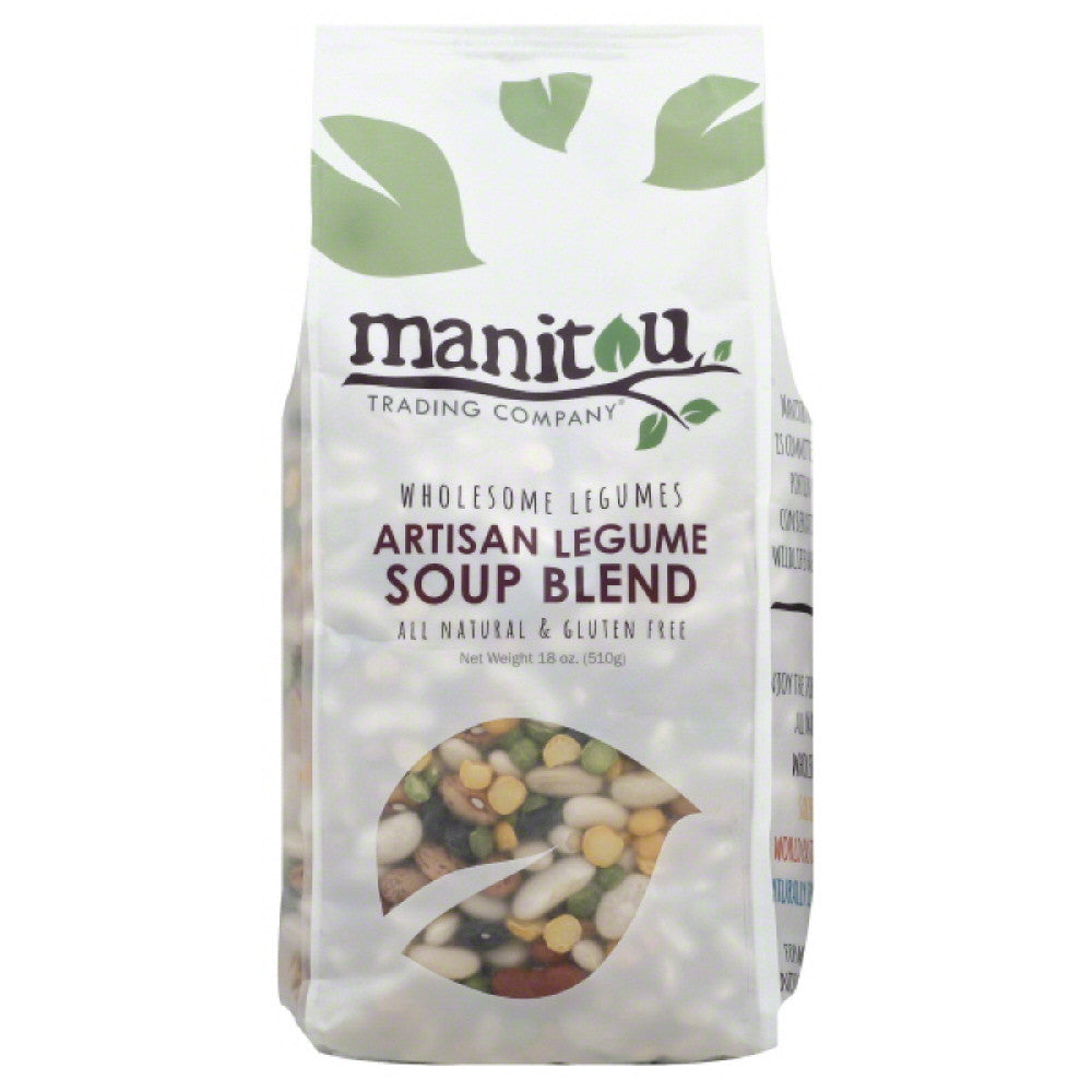 Manitou Trading Artisan Legume Soup Blend, 18 Oz (Pack of 6)