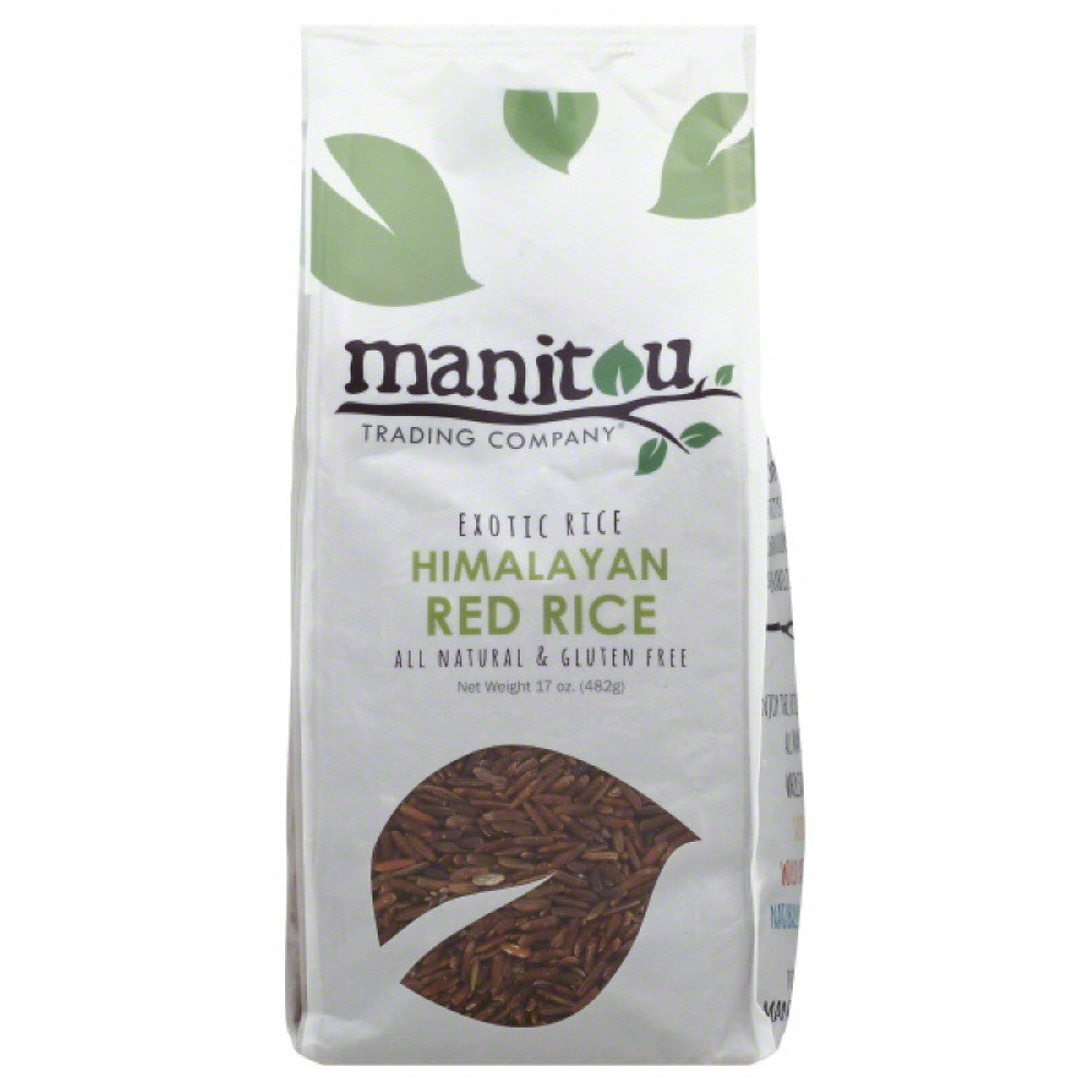 Manitou Trading Himalayan Red Rice, 17 Oz (Pack of 6)