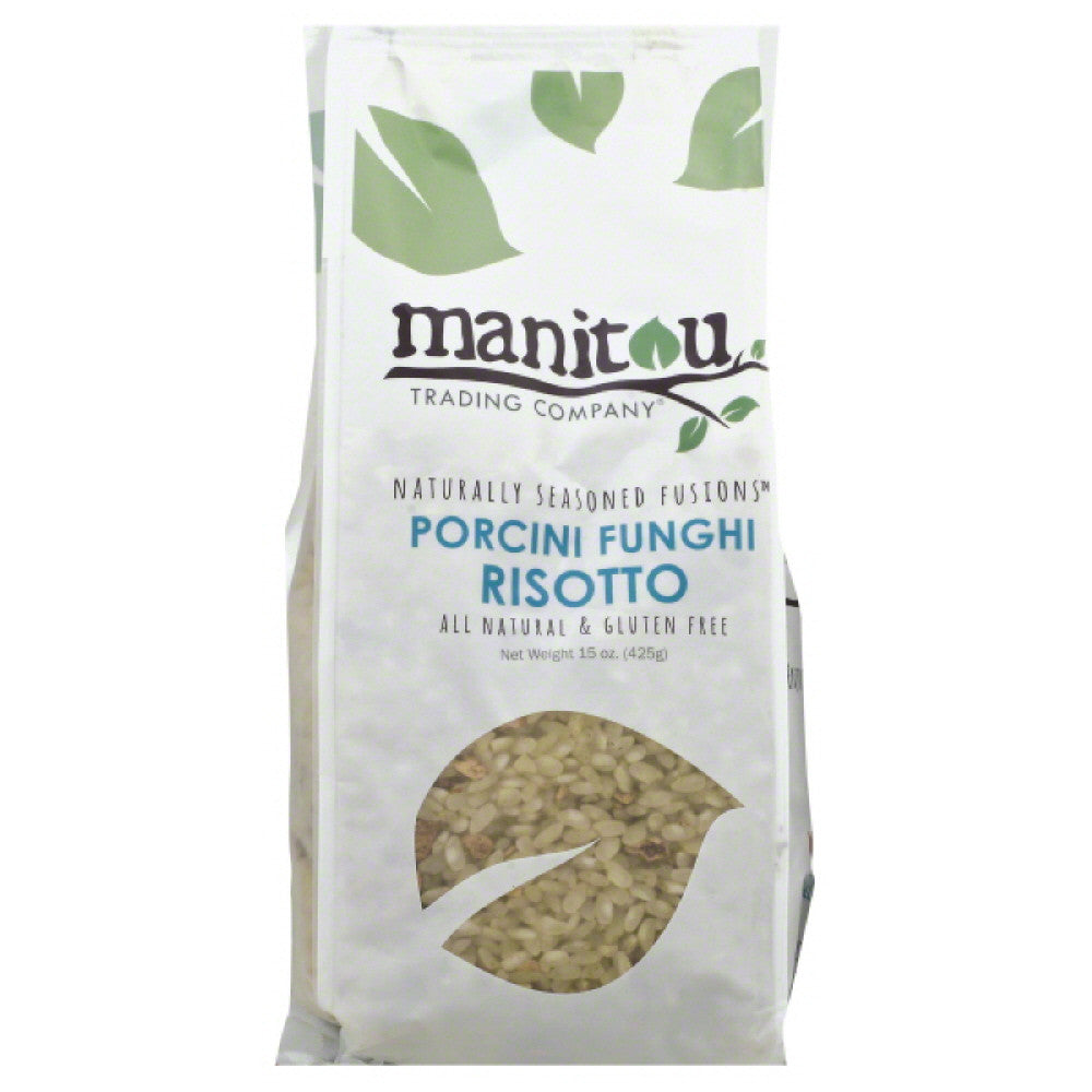 Manitou Trading Porcini Funghi Risotto, 15 Oz (Pack of 6)