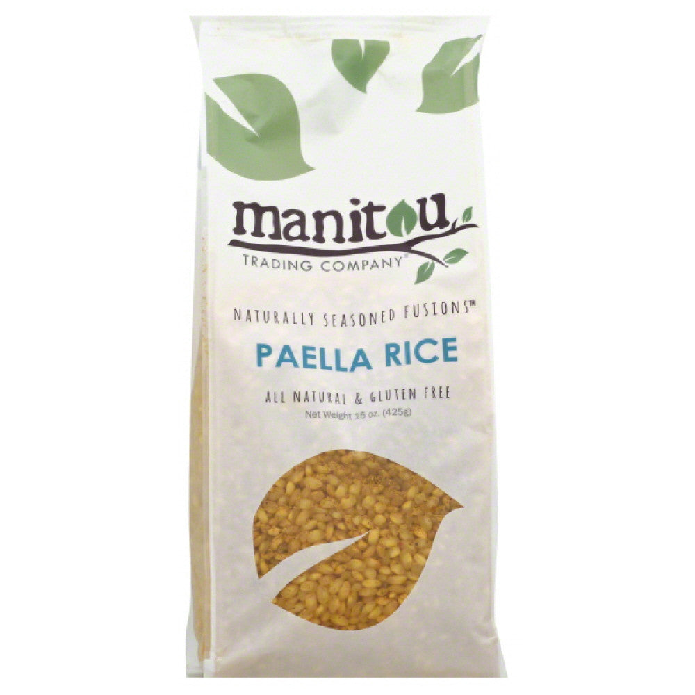 Manitou Trading Paella Rice, 15 Oz (Pack of 6)