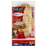 Flatout 100% Whole Wheat with Flax Flatbread, 9 Oz (Pack of 12)