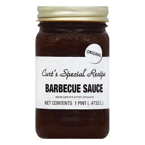 Curts Special Recipe Original Barbecue Sauce, 1 pt (Pack of 6)