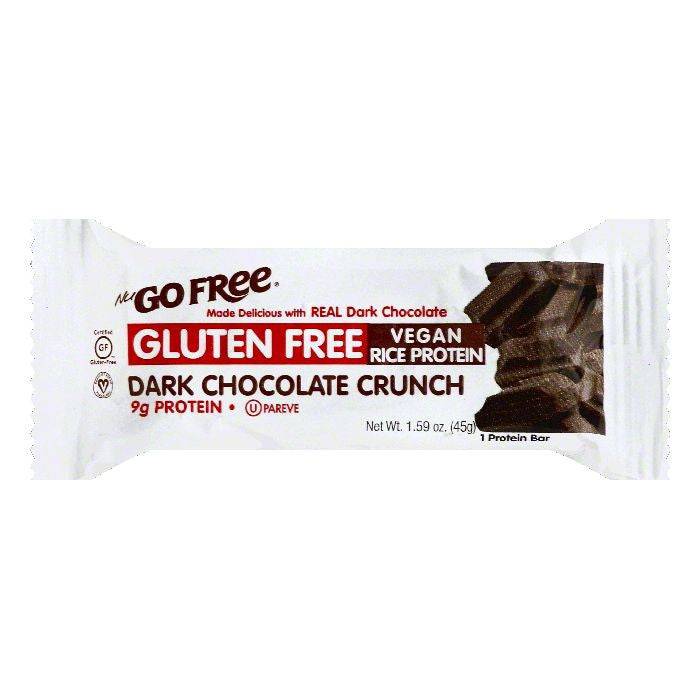 NuGo Dark Chocolate Crunch Protein Bar, 1.59 OZ (Pack of 12)