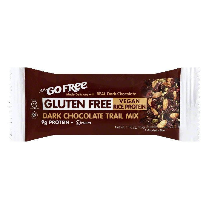 NuGo Dark Chocolate Trail Mix Protein Bar, 1 ea (Pack of 12)
