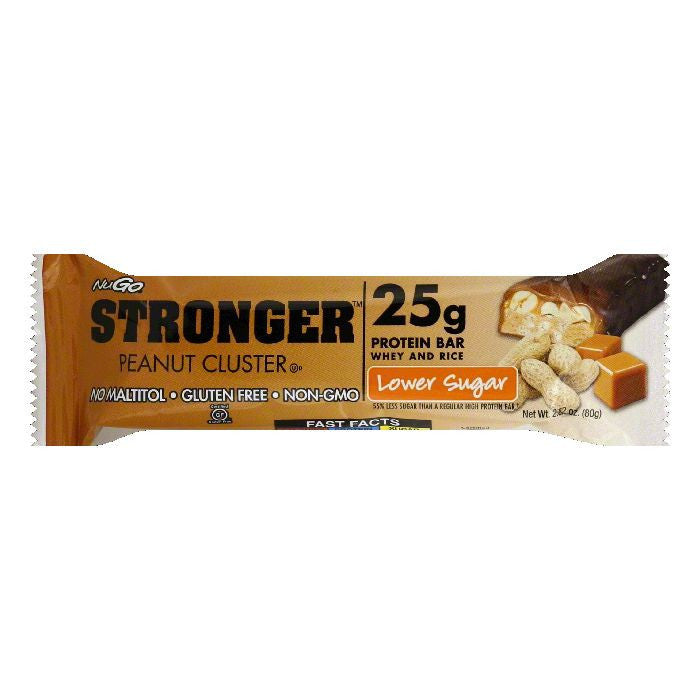 NuGo Peanut Cluster Protein Bar, 2.82 OZ (Pack of 12)