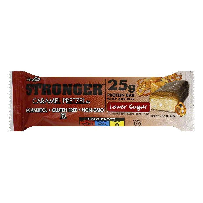 NuGo Caramel Pretzel Protein Bar, 2.82 OZ (Pack of 12)