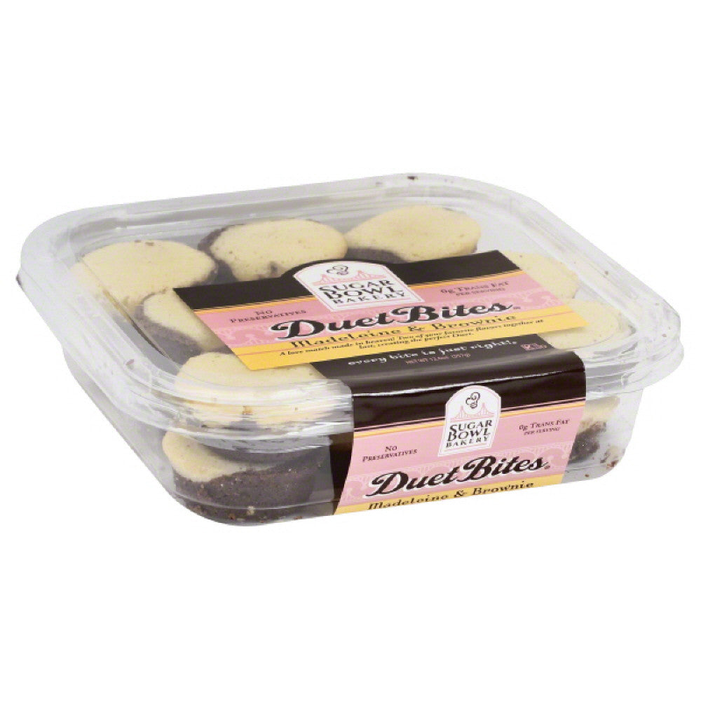 Sugar Bowl Bakery Madeleine & Brownie, 12.6 Oz (Pack of 12)
