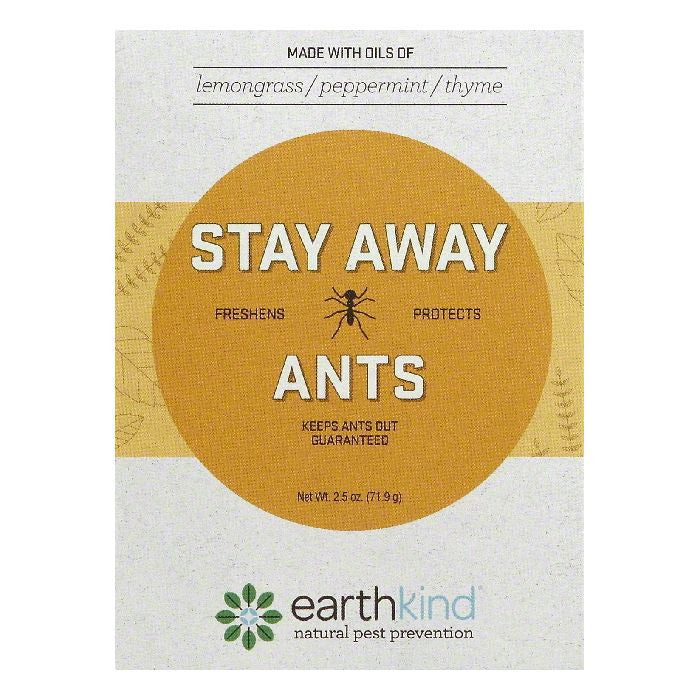 Earthkind Scent Pouch Ants Stay Away, 1 ea (Pack of 8)