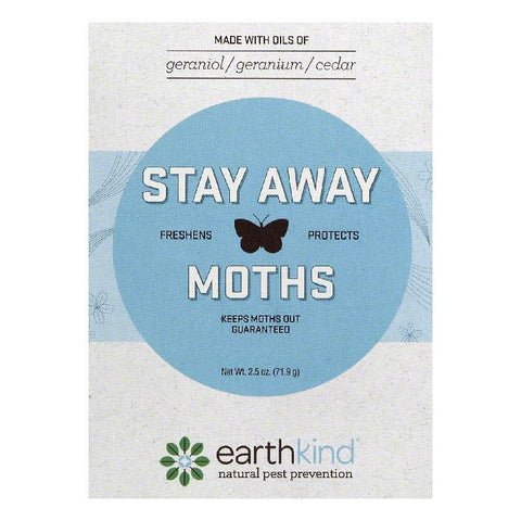 Earthkind Scent Pouch Moths Stay Away, 1 ea (Pack of 8)