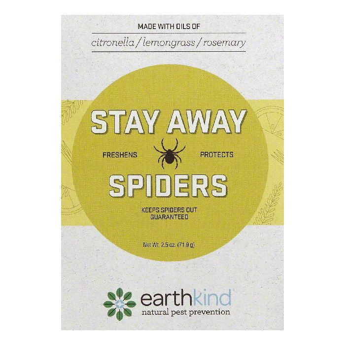 Earthkind Scent Pouch Spiders Stay Away, 1 ea (Pack of 8)