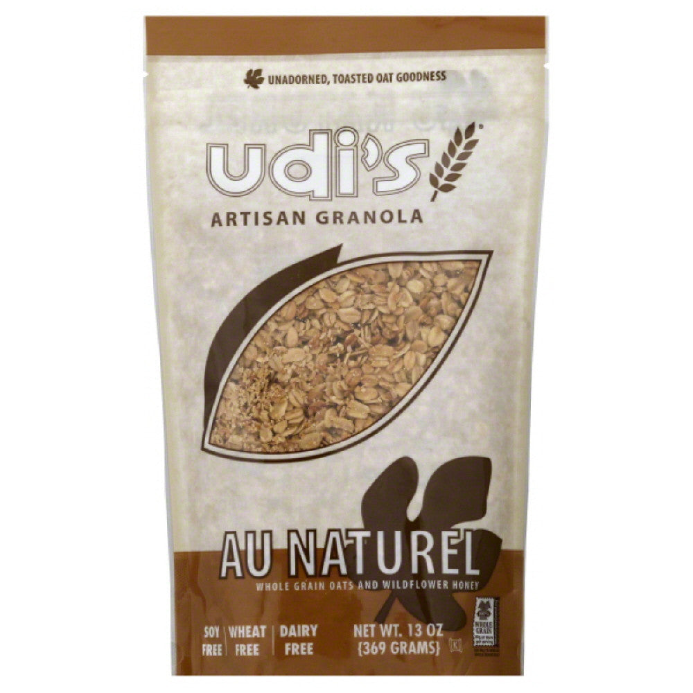 Udis Au Naturel Artisan Granola, 13 Oz (Pack of 6)