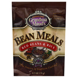 Grandma Mauds Red Beans & Rice Bean Meals, 6.2 Oz  ( Pack of  6)