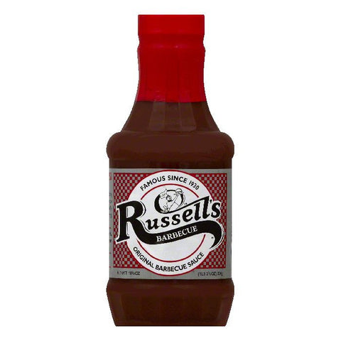 Russells Original Barbecue Sauce, 18.5 OZ (Pack of 12)