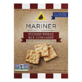 Mariner Bite Size Stoned Wheat Crackers, 8.8 OZ (Pack of 12)