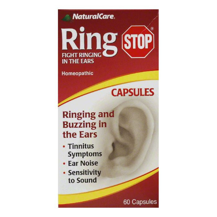 Naturalcare Capsules Ring Stop, 60 CP