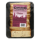 Chicago Flats Onion Gourmet Flatbread, 8 OZ (Pack of 10)