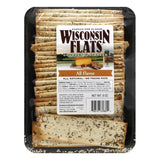 Wisconsin Flats All Flavor Flatbread, 8 OZ (Pack of 10)