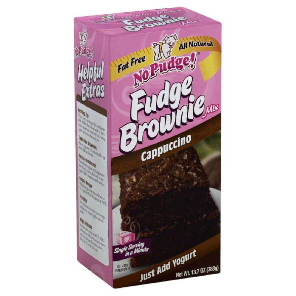 No Pudge Cappuccino Fudge Brownie Mix, 13.7 Oz (Pack of 6)