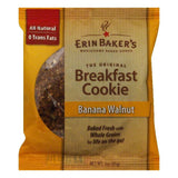 Erin Baker's Banana Walnut Breakfast Cookies, 3 OZ (Pack of 12)