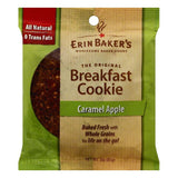 Erin Bakers Caramel Apple Breakfast Cookie, 3 OZ (Pack of 12)