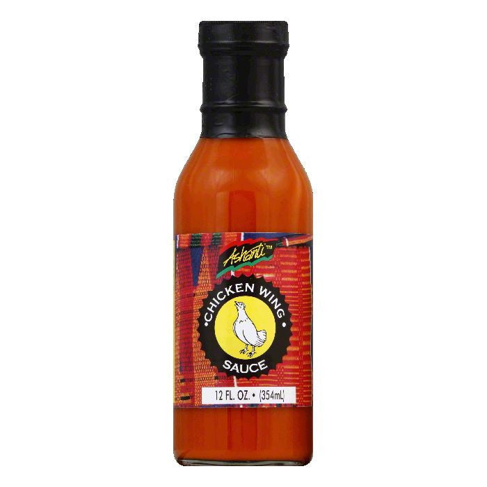 Ashanti Chicken Wing Sauce, 12 FO (Pack of 6)
