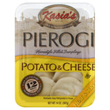 Kasias Potato & Cheese Pierogies, 14 Oz (Pack of 6)