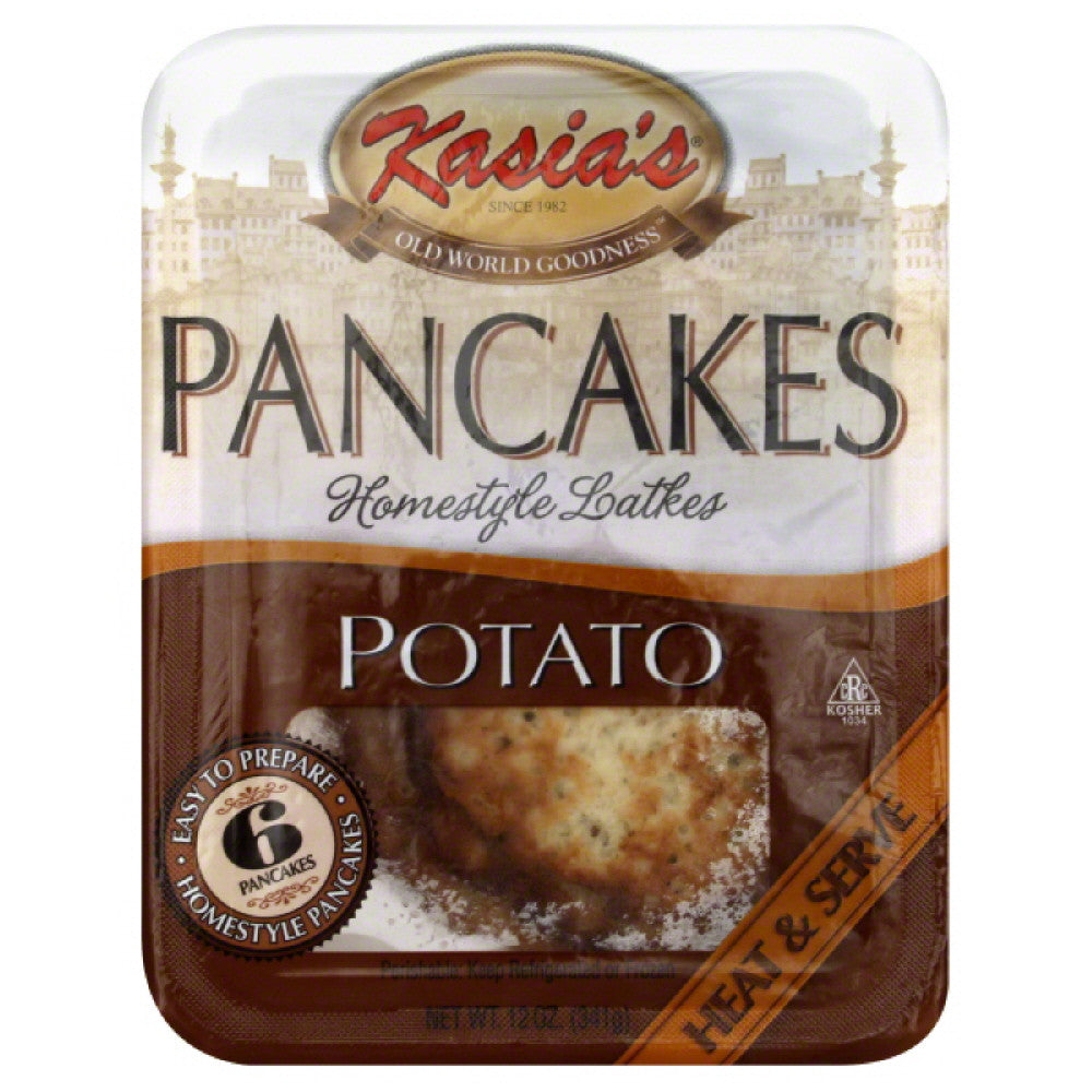 Kasias Potato Pancakes, 14 Oz (Pack of 6)