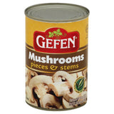 Gefen Pieces & Stems Mushrooms, 8 Oz (Pack of 24)