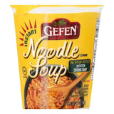 Gefen Imitation Chicken Flavor Instant Noodle Soup, 2.3 OZ (Pack of 12)