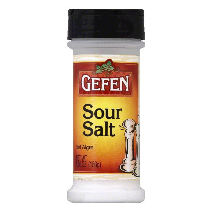 Gefen Passover Sour Salt Spice, 5.5 OZ (Pack of 12)