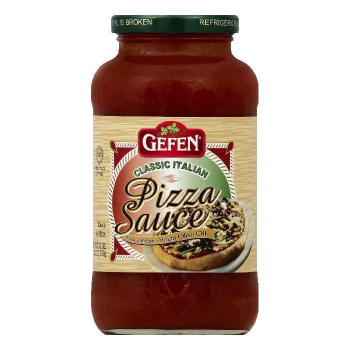 Gefen Classic Italian Pizza Sauce, 26 OZ (Pack of 12)